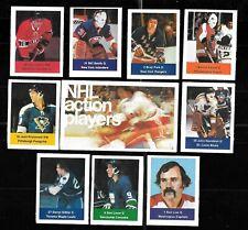 1974-75 LOBLAWS SAVE EASY CAN ACME USA 74-75 NHL HOCKEY STICKER CARD SEE LIST *