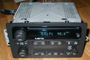 UNLOCKED 2004-2012 CHEVY COLORADO 04-12 GMC CANYON MP3 CD PLAYER RADIO MINT