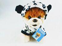 "Gund World's Cutest Dog Boo Panda Pajamas Stuffed Animal Plush 9"""