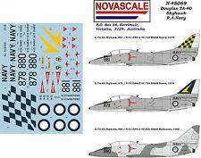 RAN TA-4G Skyhawk Decals 1/48 Scale N48069