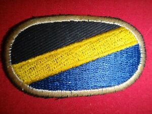 US Company A (Airborne) 96th Civic Affairs Battalion Oval Flash Patch