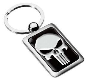Schlüsselanhänger Metall Keyring Keychain Punisher Schlüsselbund Geschenk KK 217