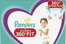 Pampers Cruisers 360 Disposable Diapers 3, 4, 5, 6 *You Choose Count
