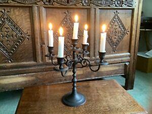 Gothic Black Candelabra Candlestick Witchy Halloween