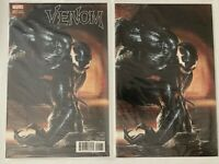 Venom #1 Dell'Otto Trade Dress & Virgin Variant Set CATES NM NM+ Polybag Marvel
