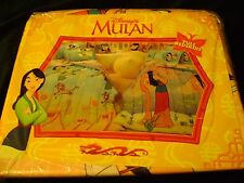 New Vintage Disney's Mulan Full Bedskirt