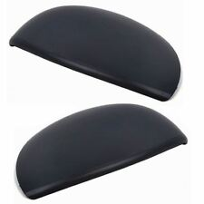 Peugeot 206 98-10 Pair Mirror Cover Replacement Left & Right Black Wing cap