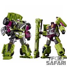 Transformers Jin Bao Oversized Gravity Builder Dr. Crank Set C IN USA NOW!!