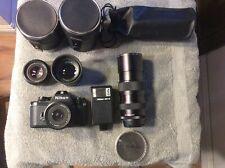 Vintage Nikon Camera And Lens's