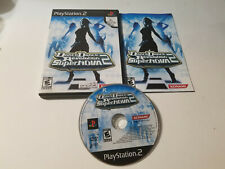 Dance Dance Revolution SuperNova 2 (Sony PlayStation 2, 2007) Ps2 Complete CIB