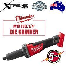 """Milwaukee M18 Die Grinder 1/4"""" Cordless 18 Volt Grinder"""