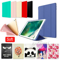 Smart Leather Case Stand Cover  iPad Air Air 2 Mini 2 3 4 Pro 10.5 9.7 2017 2018