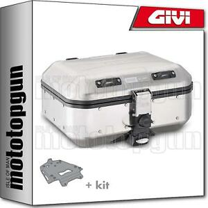 GIVI TOP CASE TREKKER DOLOMITI DLM30A + PORTE-PAQUET BMW K 1600 GT 2012 12