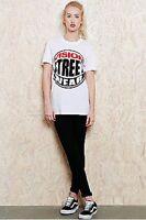 Urban Outfitters Vision Streetwear White Ladies Tee Tshirt BNWT UK Size XL