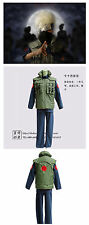 Naruto Cosplay Costume Kakashi Hatake Vest Green color