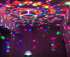 LED RGB Magic Ball Crystal Effect Light DJ Club Disco KTV Party Stage Lighting