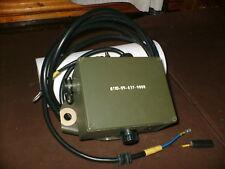 CLANSMAN MILITARY L/ROVER NEW POWER DISTRIBUTION BOX