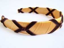"New Girls Custom ""Classic Gold Bronze"" Holiday bOuTiQuE Headband"