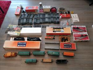 Large LOT Vintage Lionel Electric Model Trains
