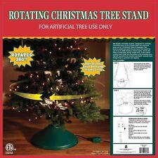Rotating Christmas Tree Stand Revolving Ez Rotate Auto Wrap No Tangle!