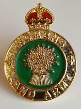 Hat Badge Womens Land Army Kings Crown