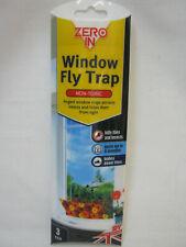 New Zero In Window Fly Window Traps Killer Insects Pk3 STV012