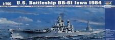 Trumpeter 05701 1/700 US Battleship BB-61 Iowa 1984