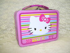 HELLO KITTY METAL LUNCHBOX SMALL SIZE  2013