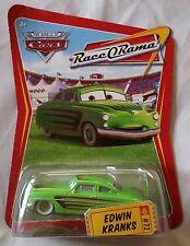 Disney Pixar Cars EDWIN KRANKS #72 Series 4 (Race O Rama) 1:55 Diecast