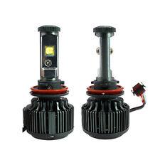 LED Headlight/Fog Light Kit 7200Lm & 60W/Set, H11/H9/H8/H16(JP), DIY 6000K/8000K