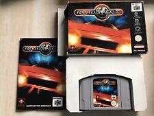 Roadsters - Nintendo 64 - Boxed - N64 - Pal.