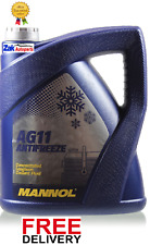 MANNOL LONGTERM ANTIFREEZE CONCENTRATED COOLANT FLUID BLUE 5 LITRE *NEW*