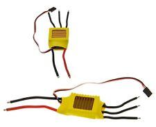ESC brushless lipo regulador 50a 2s-4s 5v 3a v2 Bec 50g programables incl. cable