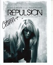 CATHERINE DENEUVE HAND Signed 10x8 Photo REPULSION