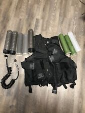 New listing Empire Paintball Vest with 8 Pods and Remote line