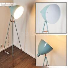 Retro Design Steh Boden Stand Lampe verstellbar Wohn Schlaf Raum Leuchten türkis