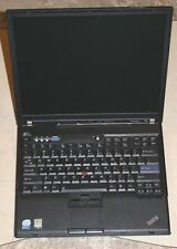 "IBM Lenovo Thinkpad T60 14.1"" Laptop Computer Intel Core Duo T5600 1.83hz 2GB"