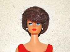 Barbie:  VINTAGE Brunette BUBBLECUT BARBIE Doll w/AMERICAN GIRL FACE!