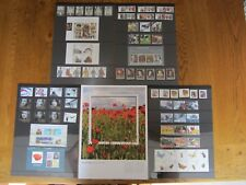 Gran Bretaña, año de Royal Mail Pack 2008 completa conjuntos de menta