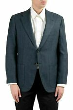 Kiton Napoli Men's Cashmere Silk Two Button Blazer Sport Coat US 42 IT 52