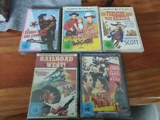 Dvd western Sammlung 5 top Filme Raritäten bill Elliott und co