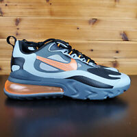 Nike Air Max 270 React Winter Total Orange Men's Sneakers Shoes Grey CD2049 006