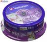 VERBATIM DVD + r 8.5GB 8x velocità 240MIN STAMPABILE doppio strato DISCHI TORRE