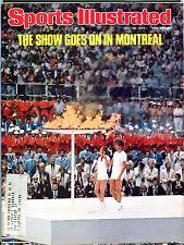 Sports Illustrated Magazine July 26 1976 Montreal Olympics EX 060216jhe