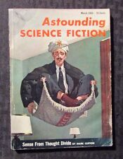 1955 March ASTOUNDING Science Fiction Digest Magazine VG+ 4.5 Mark Clifton