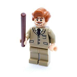LEGO Minifigure  Professor Remus Lupin - Dark Tan Suit hp130 Harry Potter