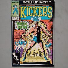 KICKERS, INC. #1 (1986) New Universe Marvel