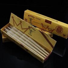 Smoking Hemp Rolling Paper Filter Tips Natural Pre-Rolled Cone 78mm 640 Cones