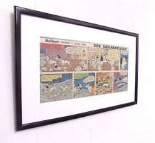 Original Disney 101 Dalmatians Comic Mounted And Ready to Frame Christening Gift
