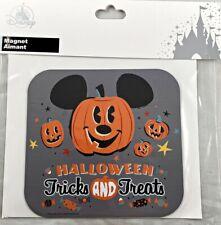 Disney Parks Halloween Tricks and Treats Pumpkin Mickey Mouse Car Magnet
